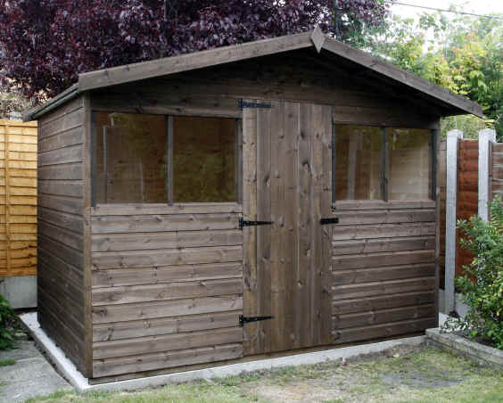 fine garden sheds x malvern heavy duty pent wide deep with