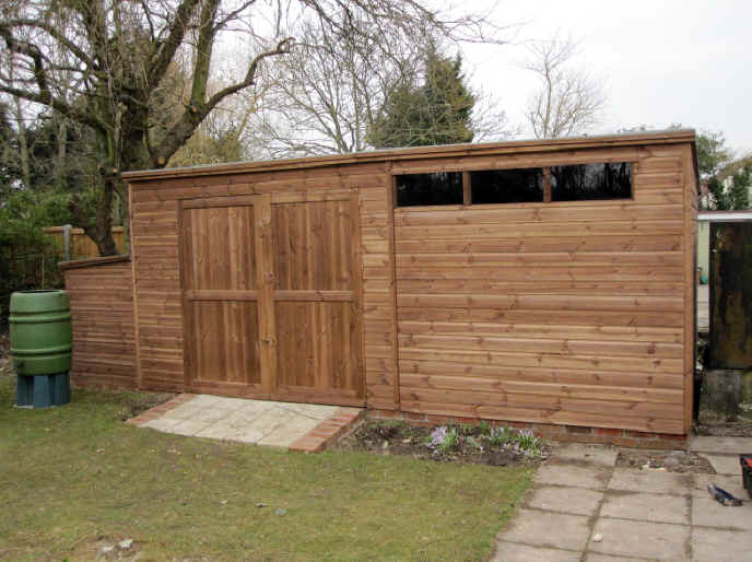 Sheds unlimited builders of bespoke and custom garden sheds for 12x8 shed with side door