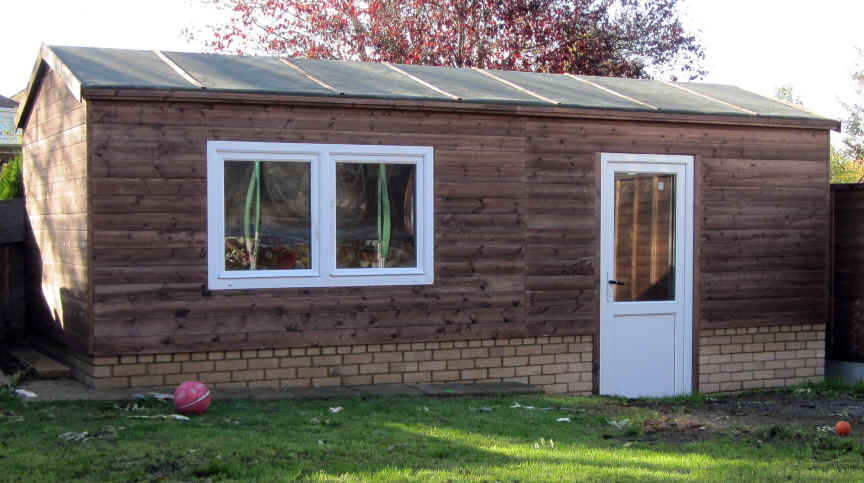 Bespoke 22 X9 Home Office Garden Shed By Sheds Unlimited
