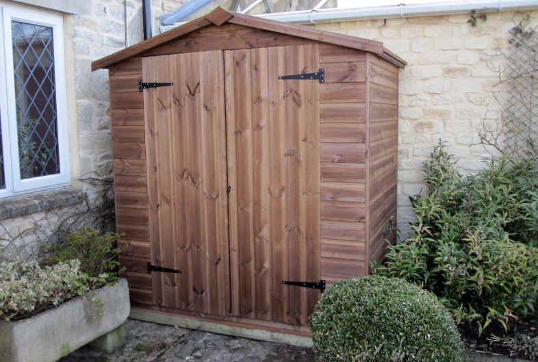 Sheds unlimited builders of bespoke and custom garden sheds for Garden shed 5 x 4