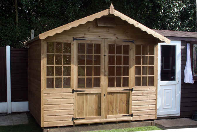 Georgian Style Garden Shed By Sheds Unlimited