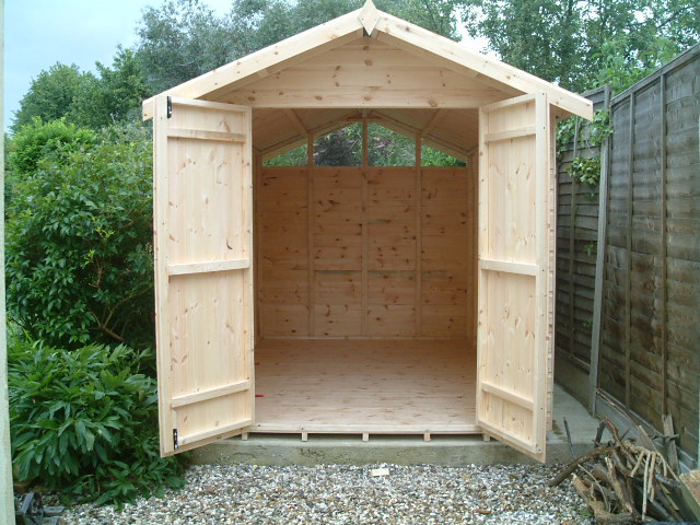 Bespoke 12 X 7 Apex Double Doors By Sheds Unlimited