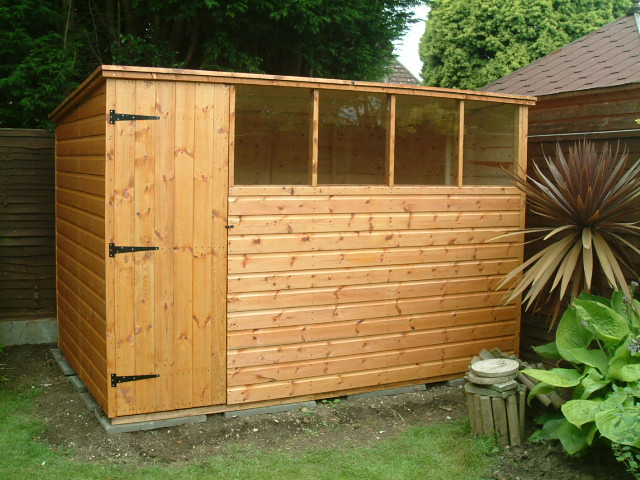 Garden Sheds By Sheds Unlimited 10x6 Pent