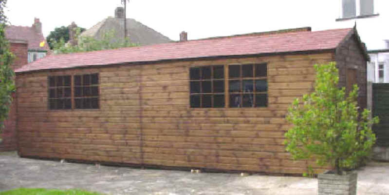 25 X 9 Apex Garden Shed By Sheds Unlimited