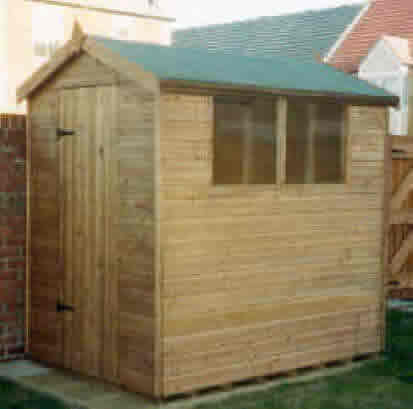 7x5 apex garden shed by sheds unlimited
