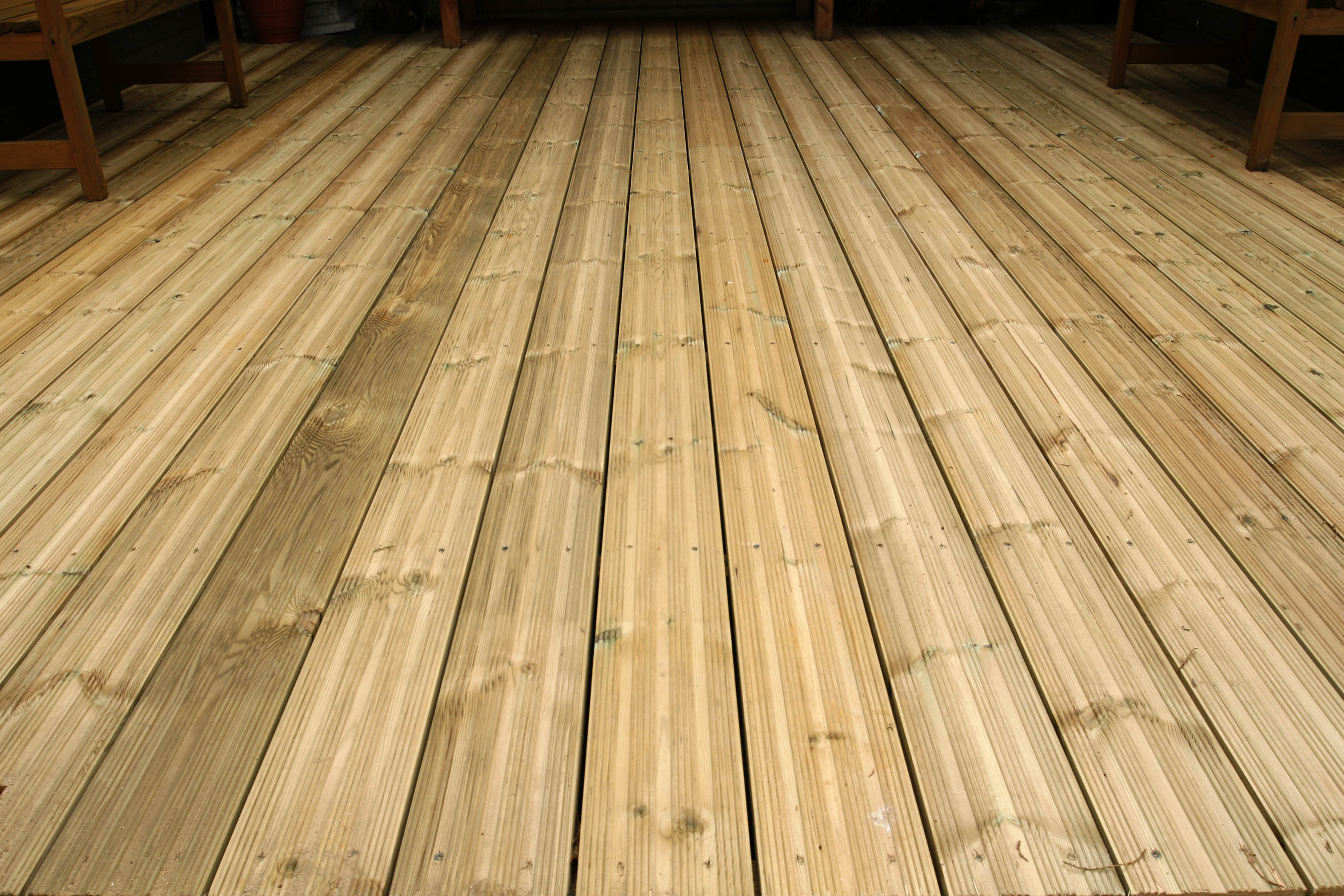 Decking from sheds unlimited timber decking supplied and for Best timber for decking