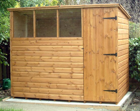 Pent Roofed Garden Sheds By Sheds Unlimited