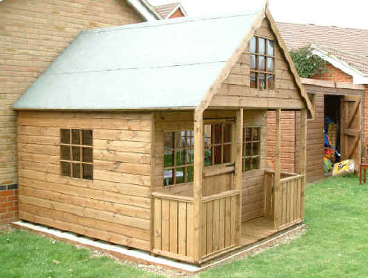 10 X 8 Playhouse 2 Storey By Sheds Unlimited